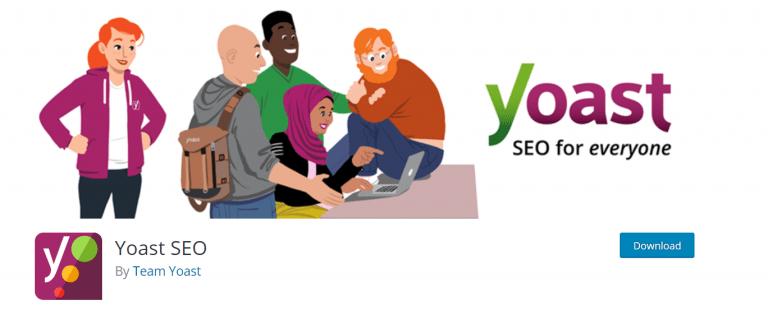 לוגו yoast SEO